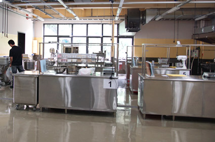 ANKO specifically designed a certified kitchen for clients' food trial