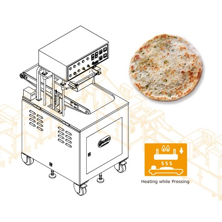 Stuffed Paratha Machine-Machinery Design for Indian Company