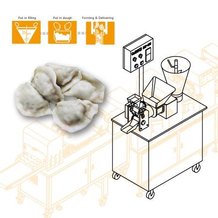 ANKO Máquina Multiusos para Rellenar y Dar Forma - Diseño de la maquinaria para la compañía taiwanesa