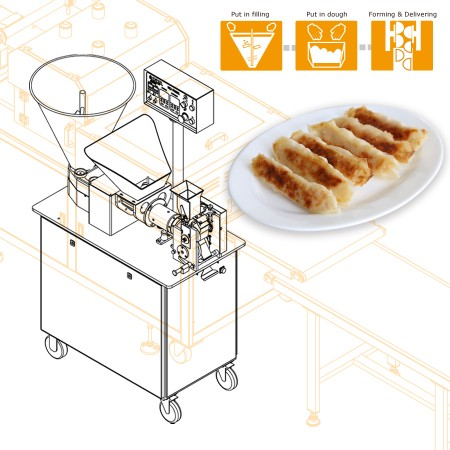 Multipurpose Filling & Forming Machine -Machinery Design for Taiwanese Company