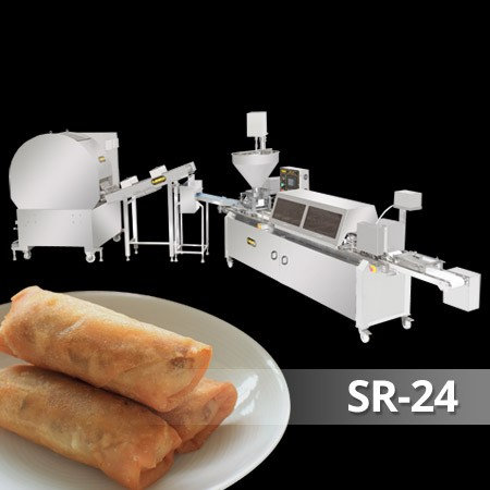 Spring Roll and Samosa Pastry Sheet Machine